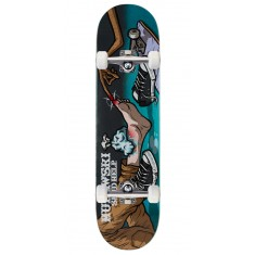 "Send Help Murawski Ouch Skateboard Complete - 8.00"" - Teal Stain"