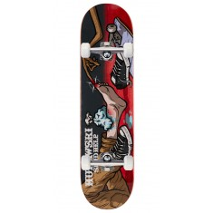 "Send Help Murawski Ouch Skateboard Complete - 8.00"" - Red Stain"
