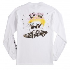 No Hours Fast Long Sleeve T-Shirt - White