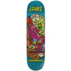 """Birdhouse Jaws Vices Skateboard Deck - 8.25"""" - Teal Stain"""
