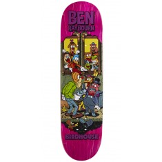 """Birdhouse Raybourn Vices Skateboard Deck - 8.50"""" - Pink Stain"""