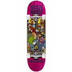 """Birdhouse Raybourn Vices Skateboard Complete - 8.50"""" - Pink Stain"""