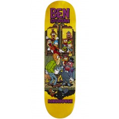 """Birdhouse Raybourn Vices Skateboard Deck - 8.50"""" - Yellow Stain"""