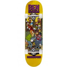 "Birdhouse Raybourn Vices Skateboard Complete - 8.50"" - Yellow Stain"