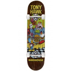 "Birdhouse Hawk Vices Skateboard Complete - 8.00"" - Brown Stain"