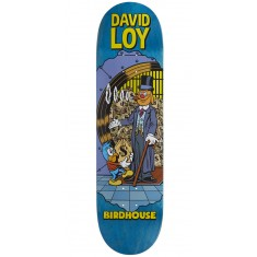 """Birdhouse Loy Vices Skateboard Deck - 8.38"""" - Teal Stain"""