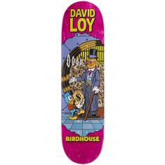 """Birdhouse Loy Vices Skateboard Deck - 8.38"""" - Pink Stain"""