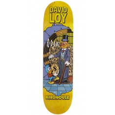 """Birdhouse Loy Vices Skateboard Deck - 8.38"""" - Yellow Stain"""