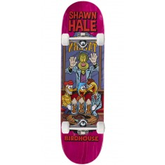 """Birdhouse Hale Vices Skateboard Complete - 8.38"""" - Pink Stain"""