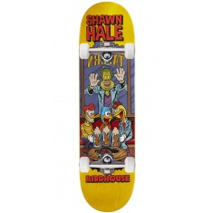 """Birdhouse Hale Vices Skateboard Complete - 8.38"""" - Yellow Stain"""