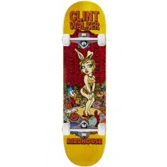 """Birdhouse Walker Vices Skateboard Complete - 8.125"""" - Yellow Stain"""