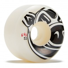 Pig Head Natuarl Conical Skateboard Wheels - 53mm