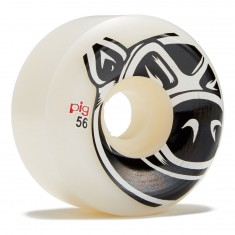 Pig Head Natuarl Conical Skateboard Wheels - 56mm