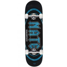 "Real Actions Realized Nate Relentless Skateboard Complete - 8.38"" - Blue Stain"