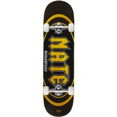 "Real Actions Realized Nate Relentless Skateboard Complete - 8.38"" - Yellow Stain"