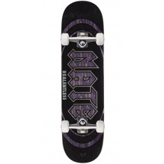 """Real Actions Realized Nate Relentless Skateboard Complete - 8.25"""" - Purple Stain"""