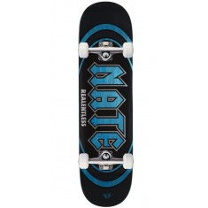 "Real Actions Realized Nate Relentless Skateboard Complete - 8.25"" - Blue Stain"
