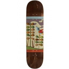 Alien Workshop Joey Guevara Mache Prarie Skateboard Deck - 8.00 - Brown Stain