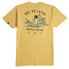 Imperial Motion See Ya Later Premium T-Shirt - Mustard