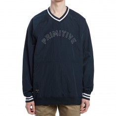 Primitive Creped Warm-Up Pullover Jacket - Midnight
