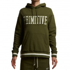 Primitive League Piped Hoodie - Dark Olive
