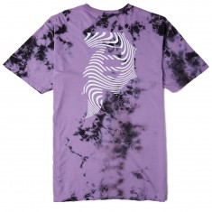 Primitive Dirty P Waves Washed T-Shirt - Purple Wash