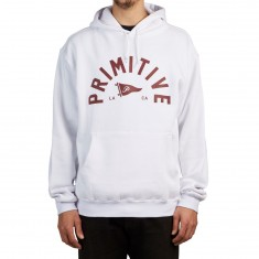 Primitive Big Arch Pennant Hoodie - White