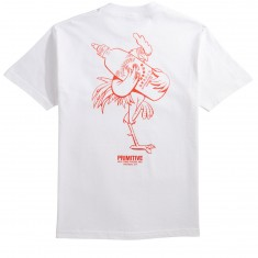 Primitive X Huy Fong Foods Big Rooster T-Shirt - White