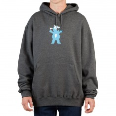 Primitive X Grizzly Mascot Hoodie - Charcoal Heather