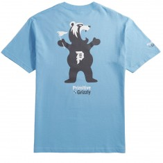 Primitive X Grizzly Mascot T-Shirt - Carolina