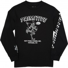 Primitive X Huy Fong Foods Saucy Longsleeve T-Shirt - Black