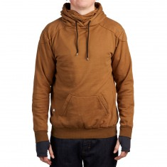 Push Culture Pullover Hoodie - Brown