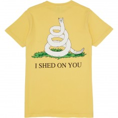 Rip N Dip I Shed On You T-Shirt - Lemon
