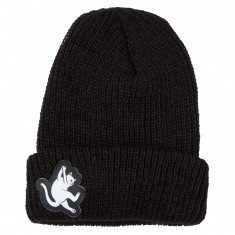 RIPNDIP Hang In There Ribbed Beanie - Black