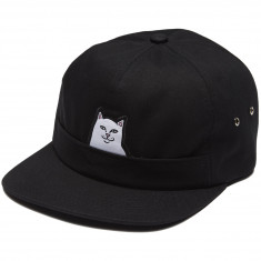 Rip N Dip Lord Nermal 5 Panel Pocket Hat - Black