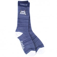 RIPNDIP Peeking Nermal Socks - Navy