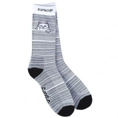 RIPNDIP Peeking Nermal Socks - White