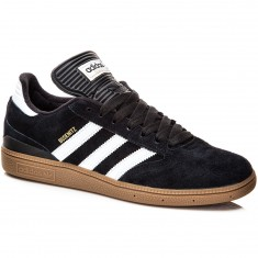 Adidas Busenitz Shoes - Black/White/Gold