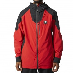 Adidas Major Stretchin It Snowboard Jacket - Scarlet/Black