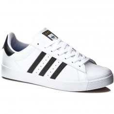 Adidas Superstar Vulc Adv Shoes - White/Black/White