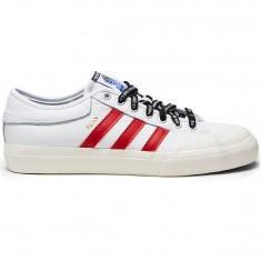 Adidas X Trap Lord Matchcourt Shoes - Running White/Scarlet Chalk White