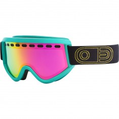 Airblaster Airpill Air Snowboard Goggles - Teal with Rose Blue Chrome