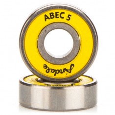 Andale Abec 5 Bearings - Yellow