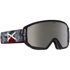 Anon Optics Relapse MFI Snowboard Goggles - Red Planet/Silver Solex