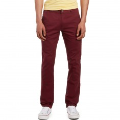 CCS Clipper Slim Fit Chino Pants - Burgundy