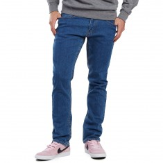 CCS Banks Slim Fit Jeans - Washed Light Blue
