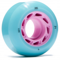Welcome Orbs Ghost Lites Skateboard Wheels - Blue/Pink Core - 54mm 104A