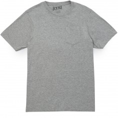 CCS Staple Pocket T-Shirt - Light Heather Grey