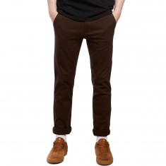 CCS Clipper Slim Fit Chino Pants - Chocolate