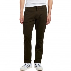 CCS Straight Fit Chino Pants - Dark Olive